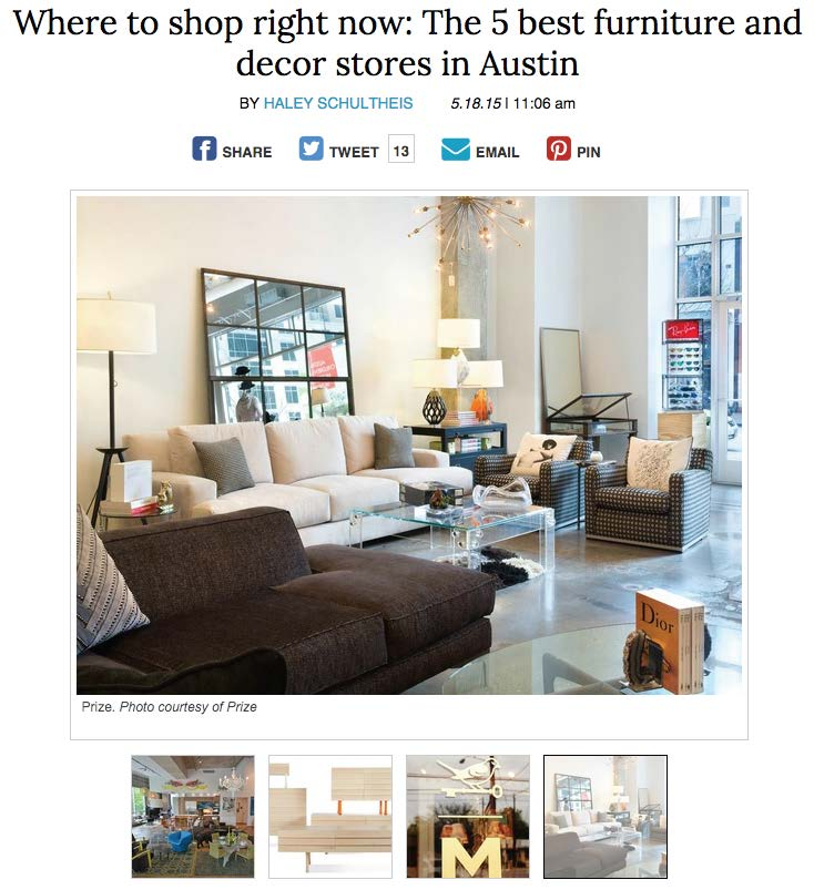 The 5 Best Furniture Stores In Austin